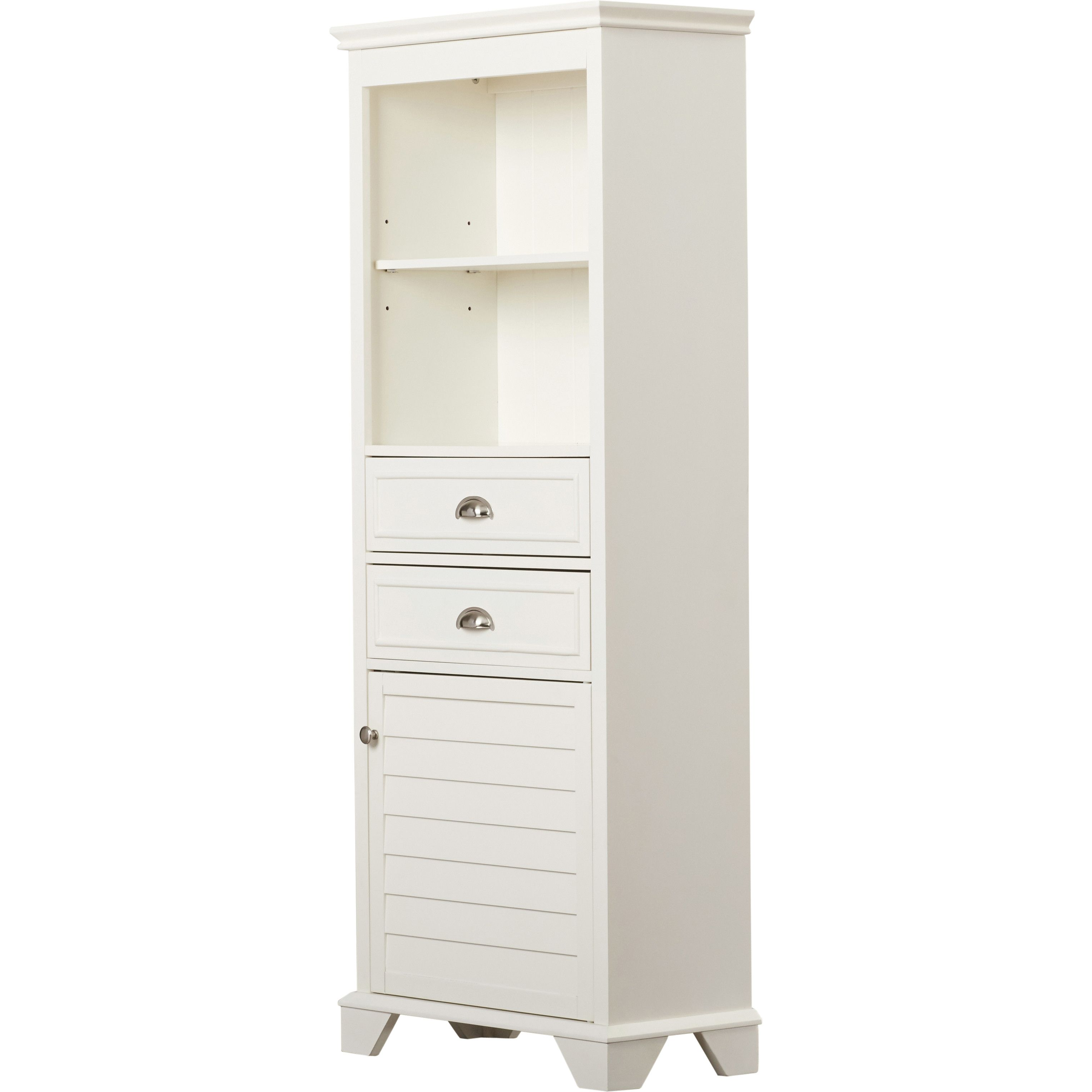 Youu0027ll Love The Crenshaw 2 Drawer Tall Cabinet At Wayfair   Great Deals On