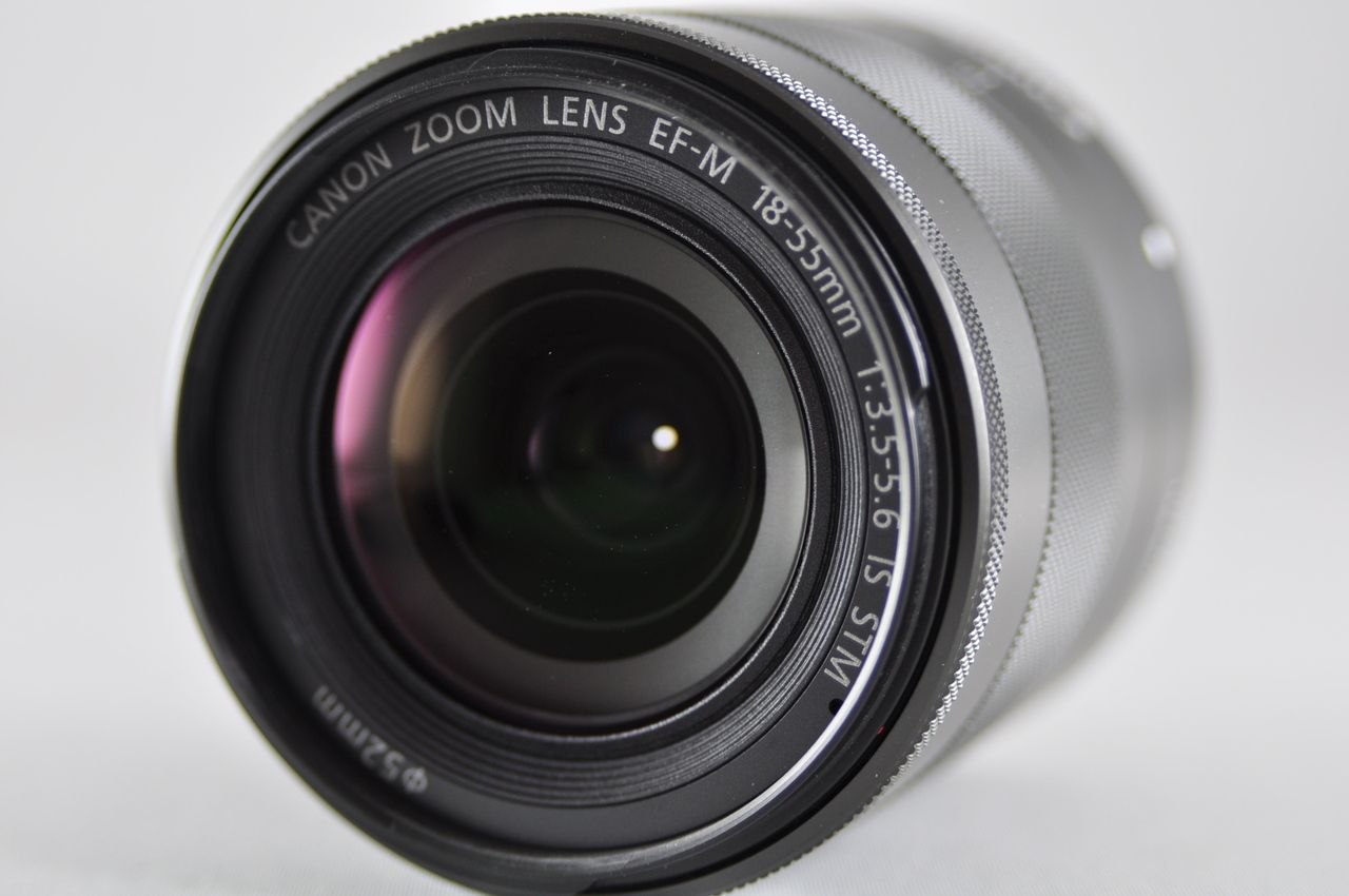 Used Canon Ef M 18 55mm F X2f 3 5 5 6 Is Stm Macro Lens For Eos M Series Macro Lens Canon Ef Eos