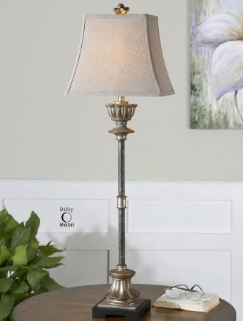 Uttermost La Morra Resin Fabric Floor Lamp