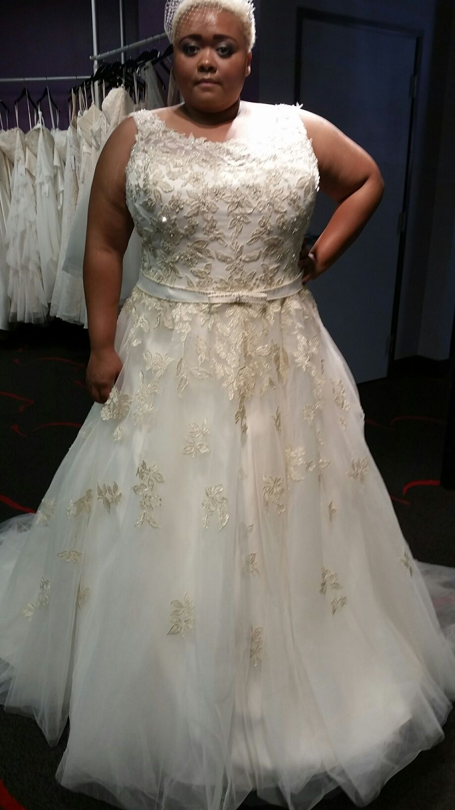 Plus Size Gold Wedding Dresses With Images Gold Wedding Dress Wedding Dresses Wedding Dresses Lace