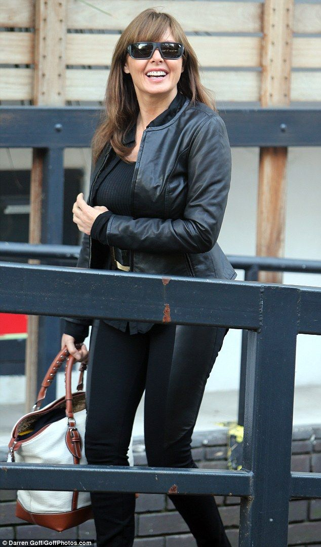 Carol Vorderman Channels The Sandy From Grease Look Sue