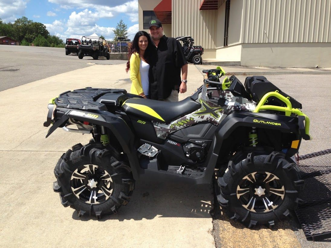 Thanks To The Berrys From Carriere Ms For Getting A 2016 Can Am