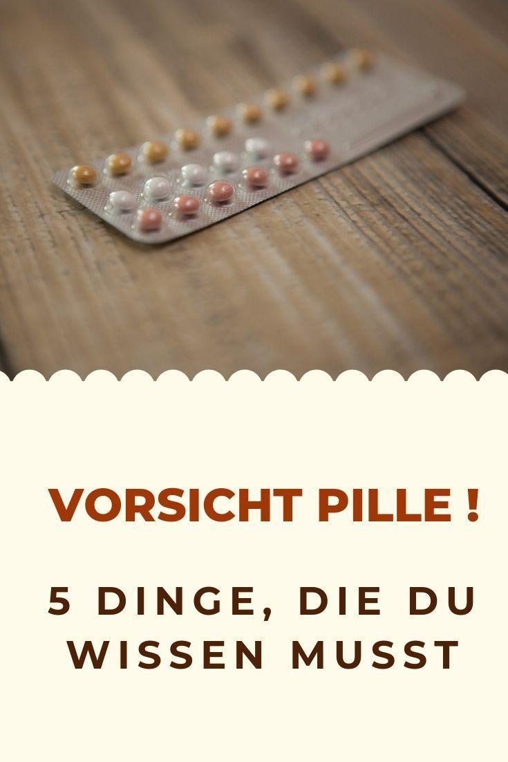 5 schwerwiegende Gründe, warum du sofort die Pille