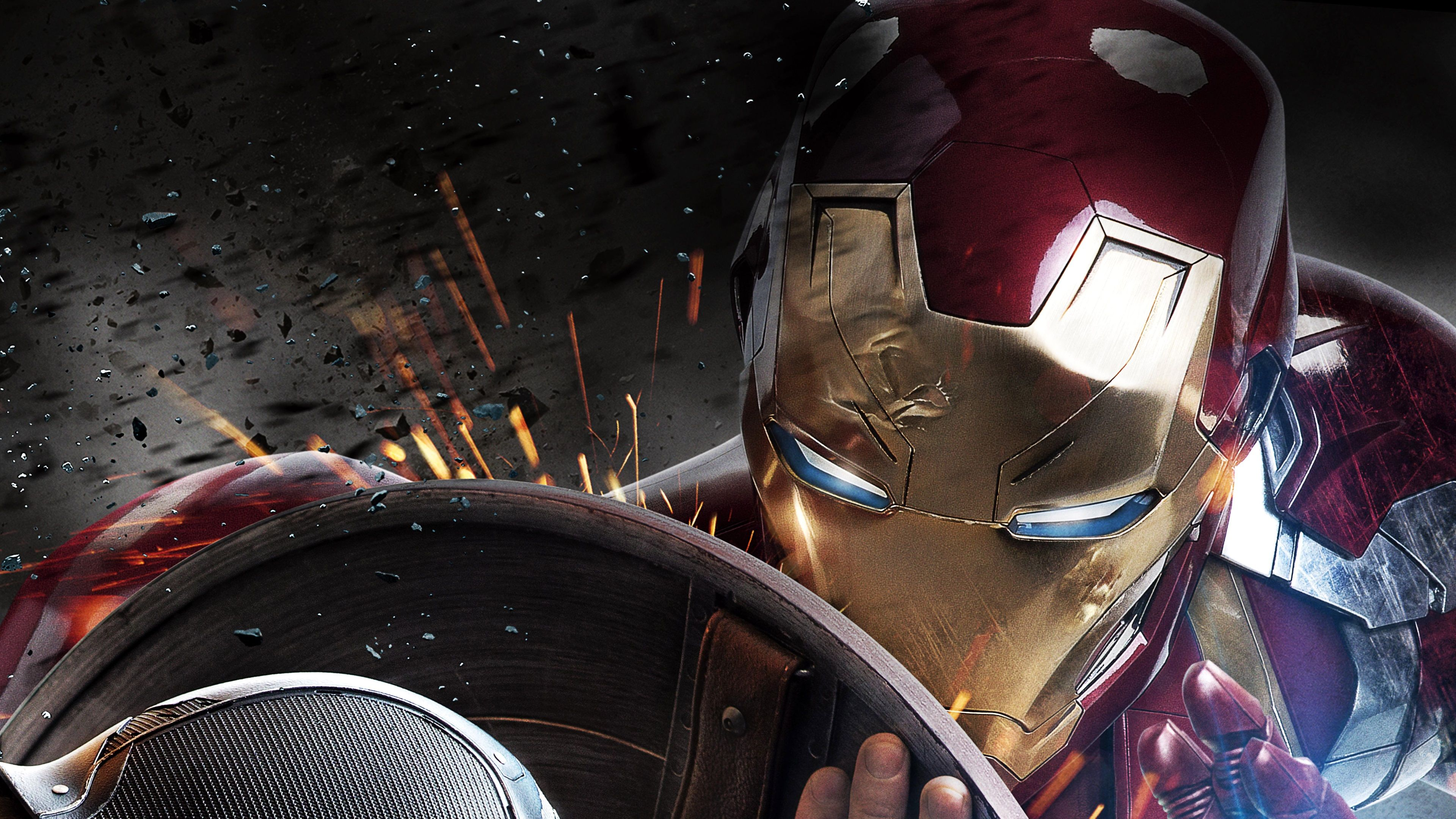 3840x2160 Iron Man 4k Wallpaper Download Hd For Pc Iron Man