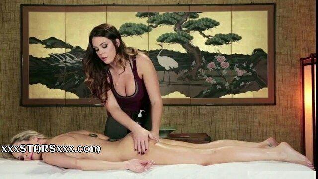 Lesbian Big Boobs Massage