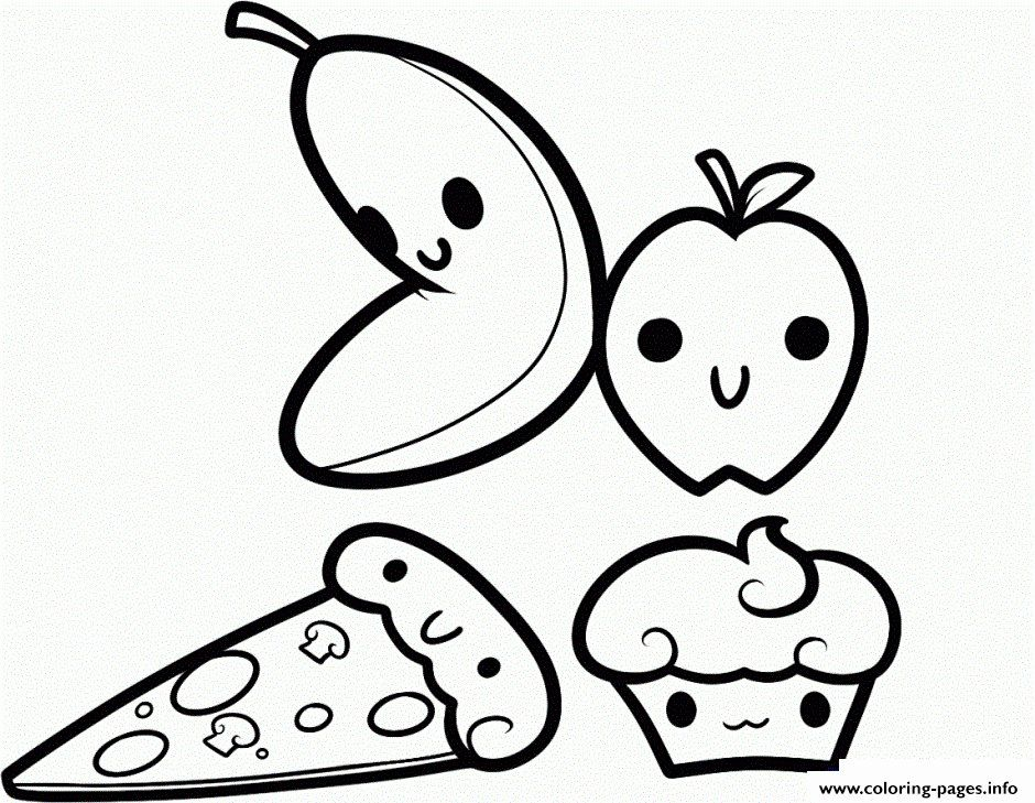 Cute Fruit Coloring Pages Typical Pics Of Cute Fruit Coloring Pages Cutecutepuppies Draw So Cute Cute Coloring Pages Cupcake Coloring Pages Food Coloring Pages