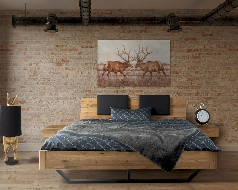 Massivholz Dolce Vita Ii Wildeiche Bett Wohnung Gestalten Bett Möbel Bett Holz