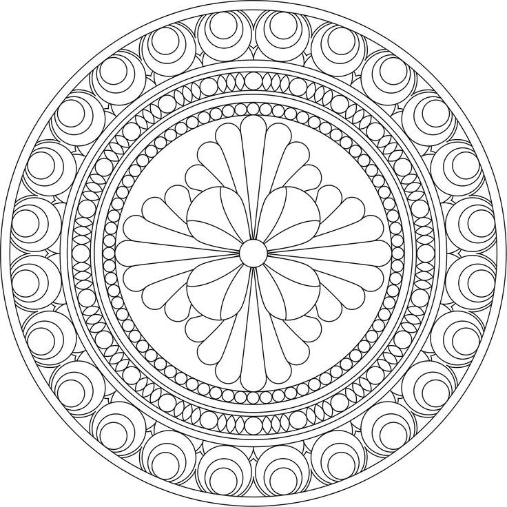 google images mandala coloring pages - photo#13