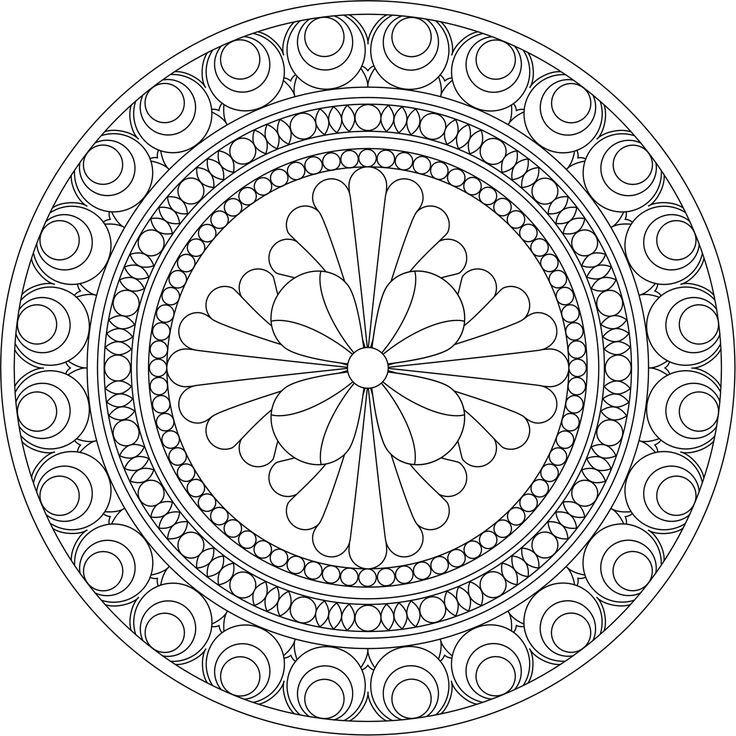 google images mandala coloring pages - photo#2