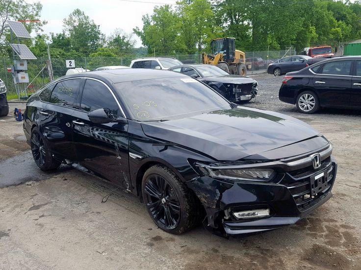 Salvage 2018 Honda Accord Touring Sedan For Sale Salvage