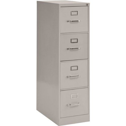 Vertical File Cabinet Four Drawers Letter Size 15 W X 22 D X 48 3 4 H By Sandusky Lee 154 95 Secure And Organize Import Filing Cabinet Sandusky Cabinet