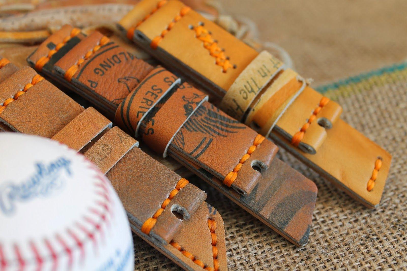 Andy Heymann Baseball Glove Leather Watch Straps Watch Strap Leather Watch Strap Leather Gloves