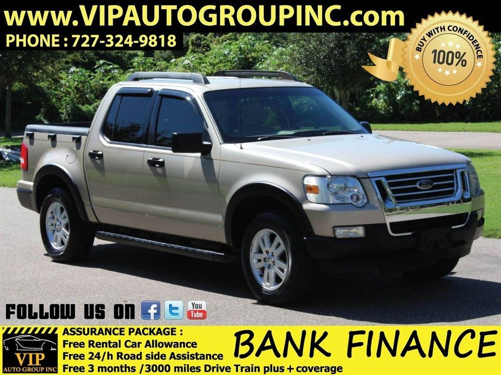 2007 Ford Explorer Sport Trac XLT 10,995 Ford