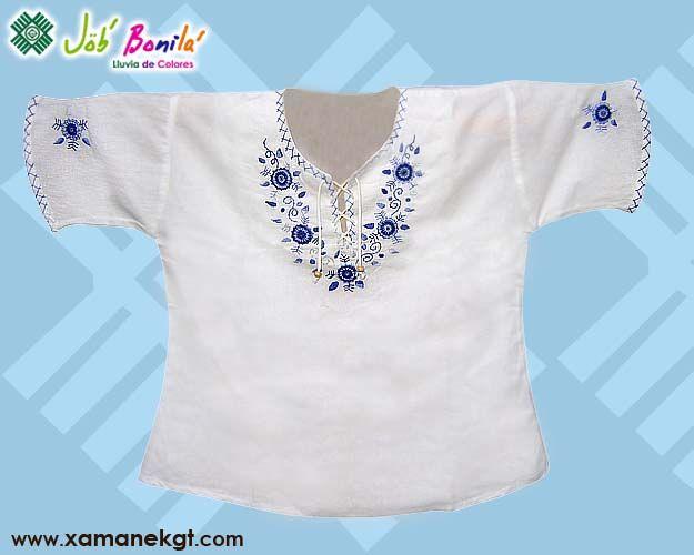 4b95fa93b Blusas bordadas a mano hechas en telas tipicas de Guatemala