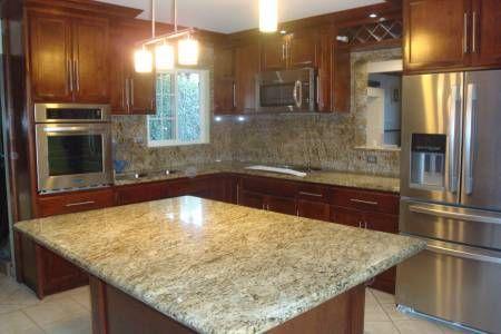 Cubiertas de granito y marmol para cocina y ba os asadores for Modelos de marmol y granito