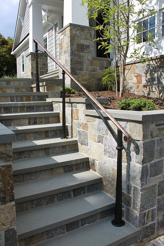 Best Bronze Steel Exterior In 2020 Exterior Stairs 640 x 480
