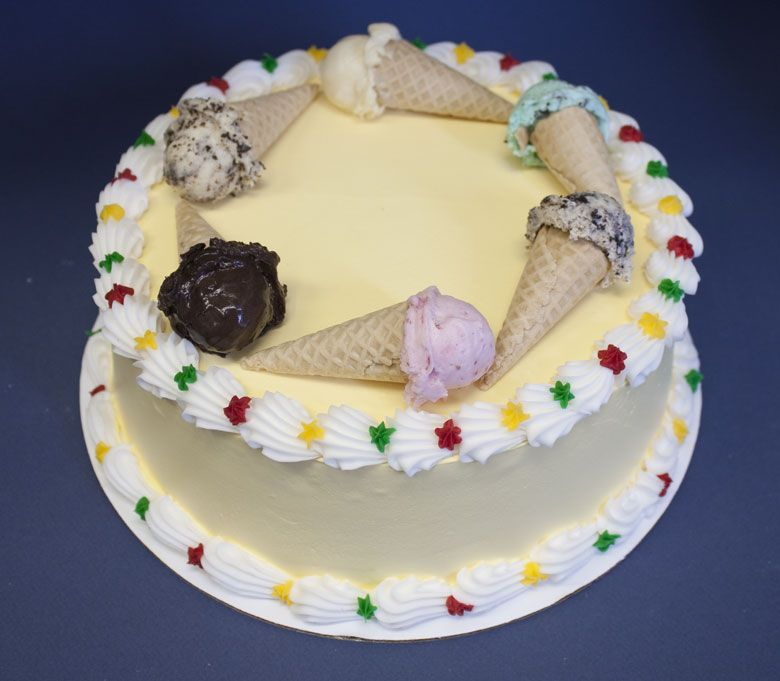 baskin robbins ice cream cake - Google Search | Decorated Cakes ...