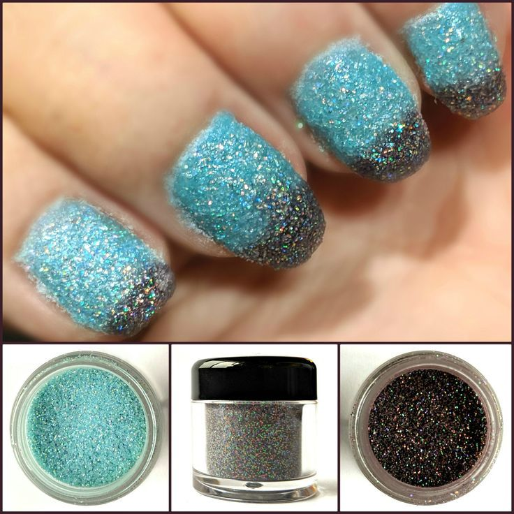 Dissolve Matter - Black to Turquoise Thermal Nail Dip ...
