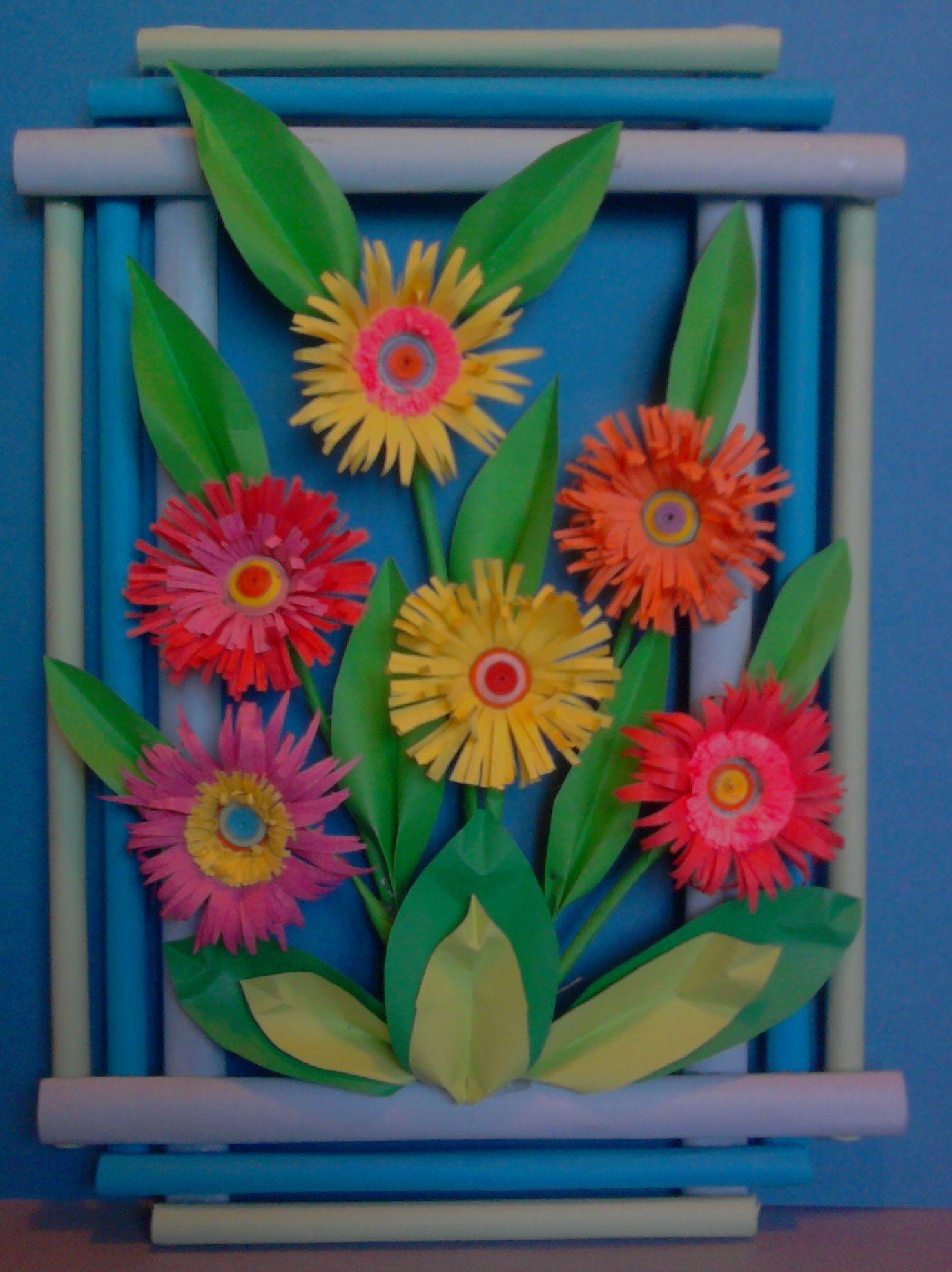 Kwiaty Z Papieru Ikebana Prace Plastyczne Dariusz Zolynski Flowers Paper Paper Flowers Orgiami Kirigami Wycinanki Flower Crafts Paper Flowers Crafts