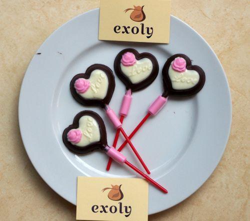 Coklat Valentine Hati Mawar Love Coklat Valentine Mawar