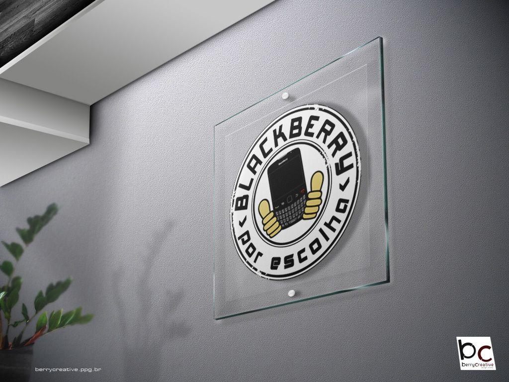 Logo: Campanha BlackBerry Por Escolha