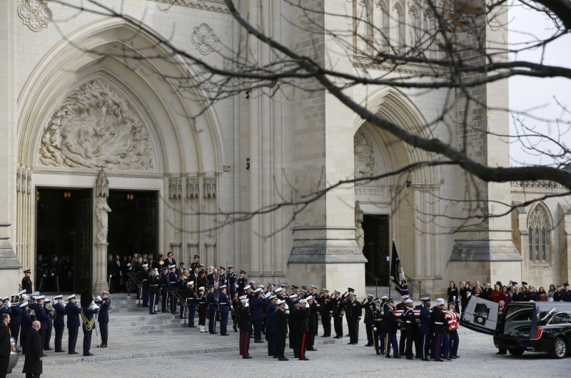 Photos State funeral for former President H.W