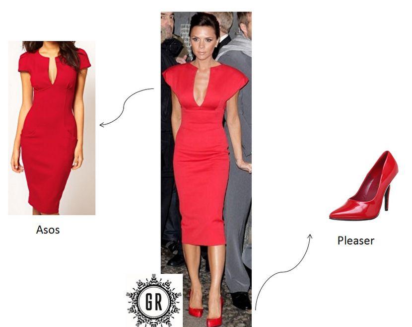 Victoria Beckham - Look alternatif