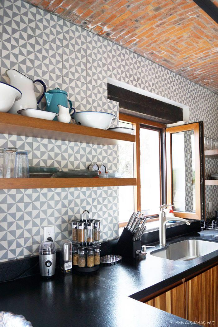 Renovacin de cocina estilo rstico industrial  Kitchens