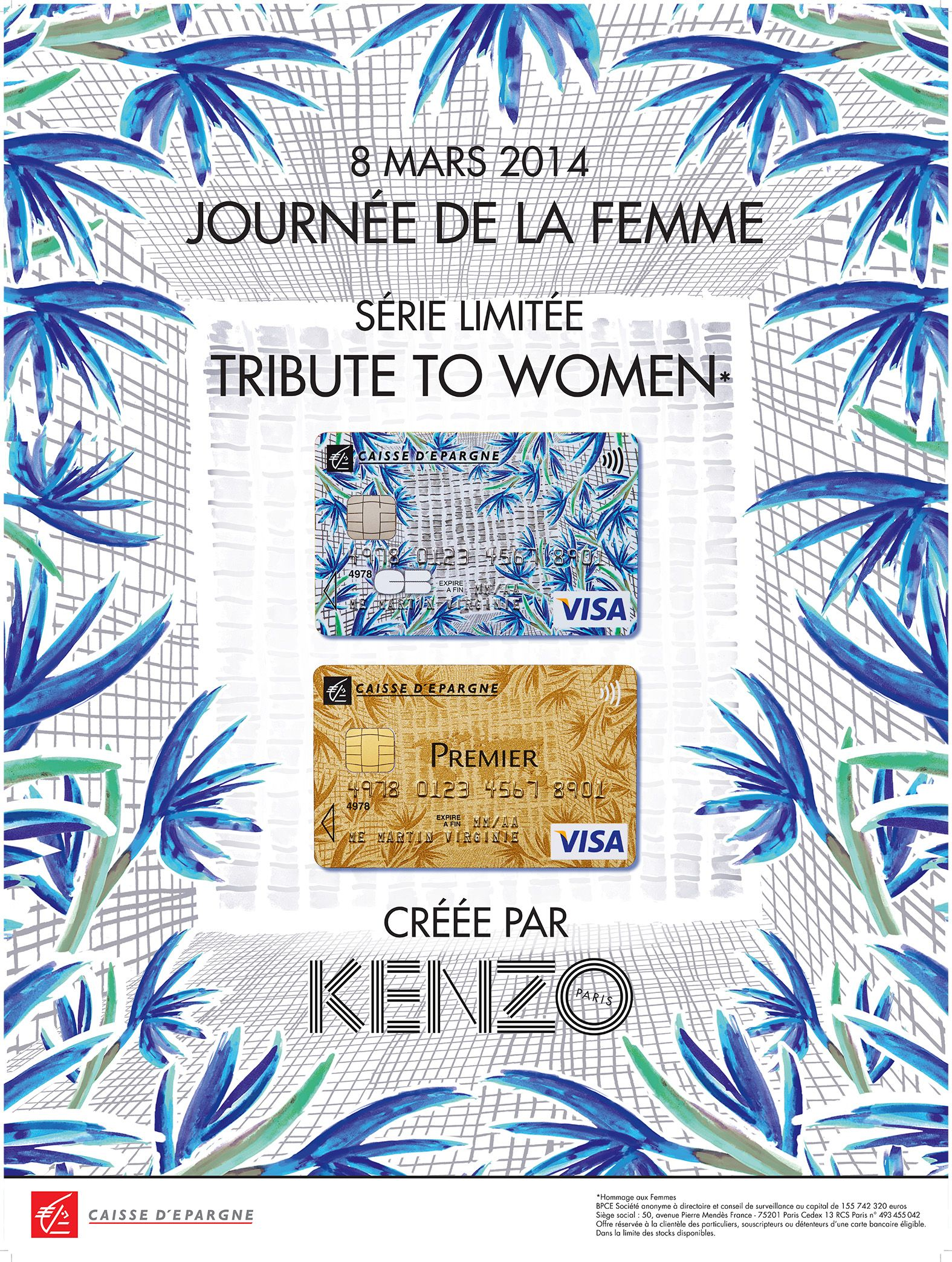 Kenzo X La Caisse D Epargne A Partnership Signed Thanks To