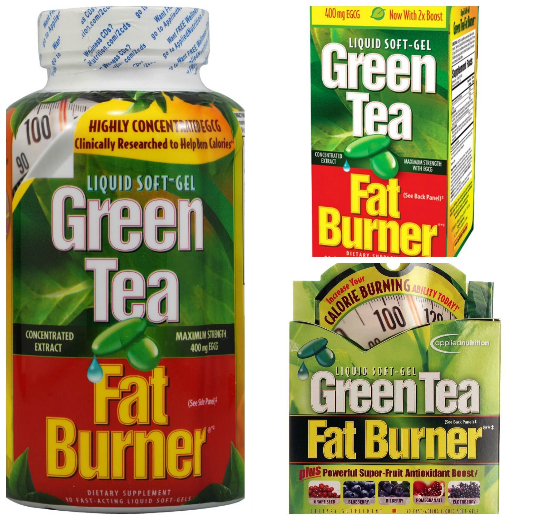 green tea extract fat burner walmart