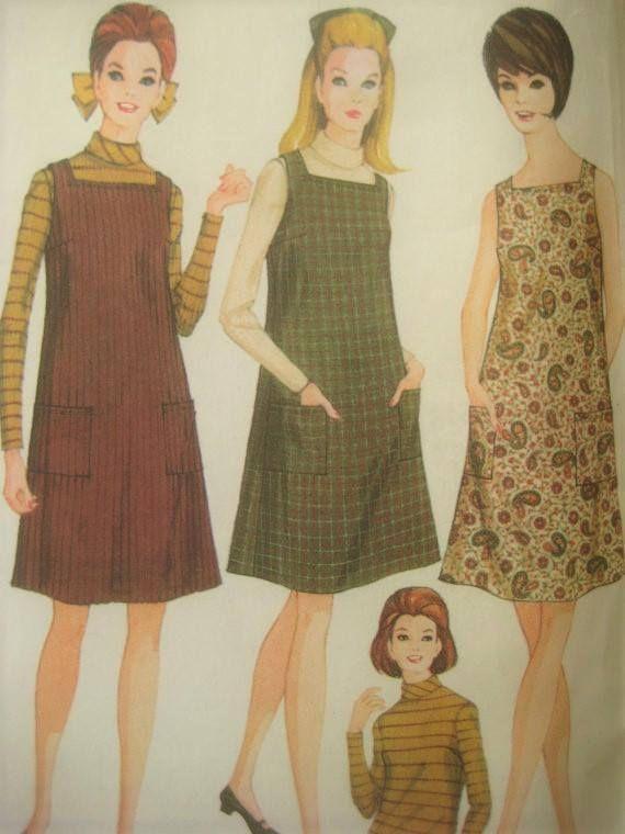Vintage McCall\'s 8982 Sewing Pattern 1960s Dress Pattern | sukineka ...