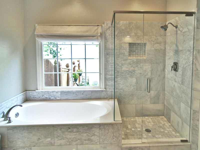 Cheap Drop In Tubs Contemporary Master Bathroom With Drop In