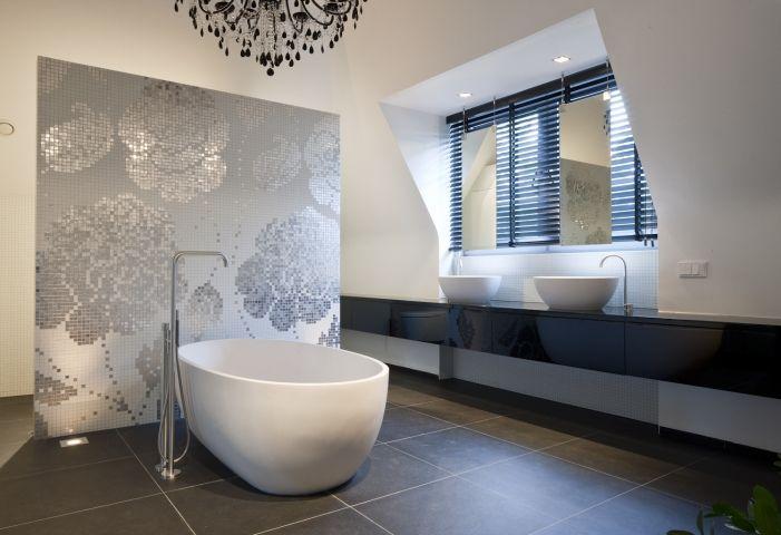 Badkamer new classic villa badkamers pinterest villa 39 s en badkamer - Interieur badkamer ...