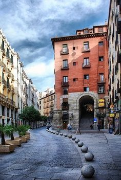 Cava de San Miguel, Madrid, Spain