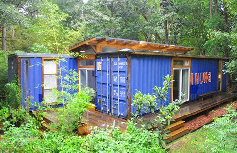 Shipping Container Homes | The Savannah Project: two containers = a house | Busyboo