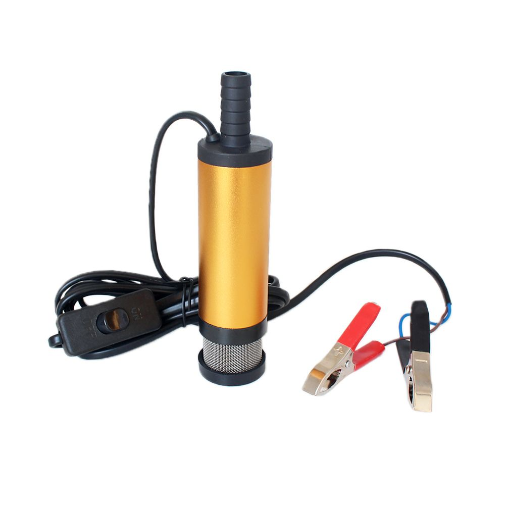 12v 24v Dc Electric Submersible Pump For Pumping Diesel Oil Water Aluminum Alloy Shell 12l Min Fuel Transfer Pump 12 V Vo Submersible Pump Diesel Oil Oil Water
