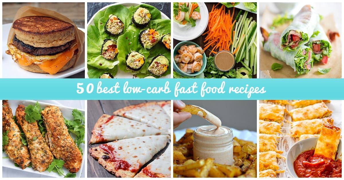 Just About Any Fast Food Meal Can Be Tweaked At Home To Create Low Carb Options That Reduce Simple Carbs And Boost The Nutritional Content