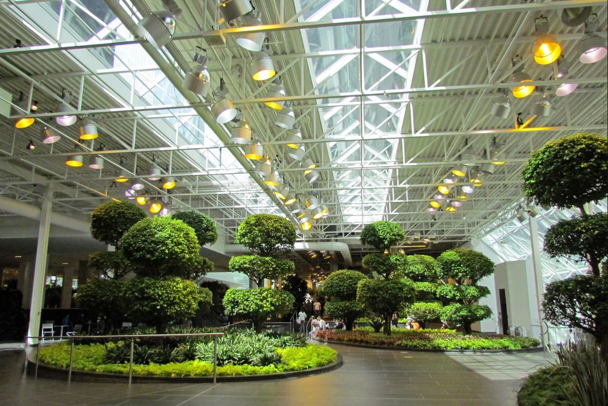 Calgary Devonian Gardens Is Located Downtown In The TD