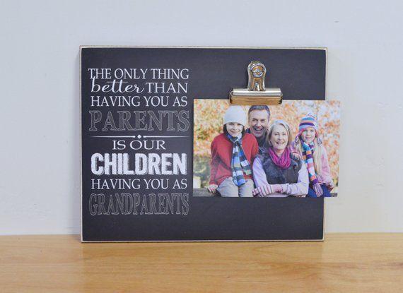 Grandparent Photo Frame, Grandparent's Day Gift For Grandparents, Picture Frame #grandparentphoto