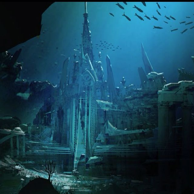 """Beautiful Places Underwater: Plato Narrated The Story Of Atlantis Using A Phrase """" It"""