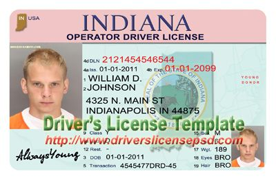 Driver Psd Death Drivers Birth Licence Indiana Papers Divorce Certificate License -