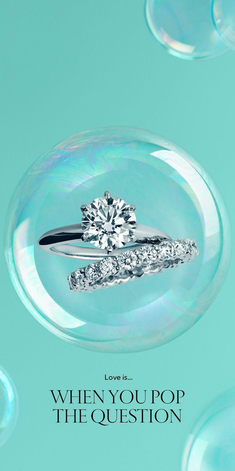 The Tiffany Setting Tiffany Ring and Tiffany blue