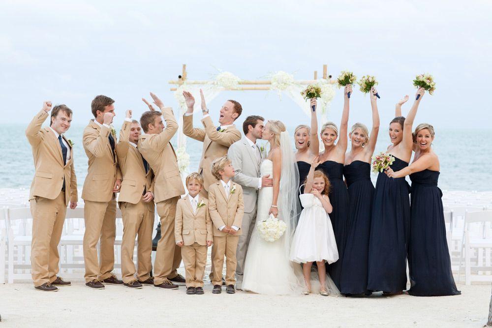 Elegant Islamorada Beach Wedding Beach Wedding Attire Wedding Beach Ceremony Beach Wedding Outfit