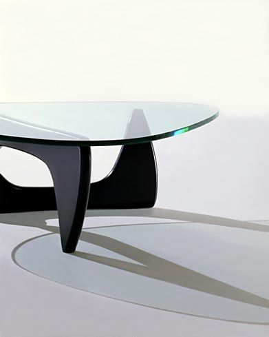 The Noguchi Table Designed By The Japanese Sculptor Isamu Noguchi