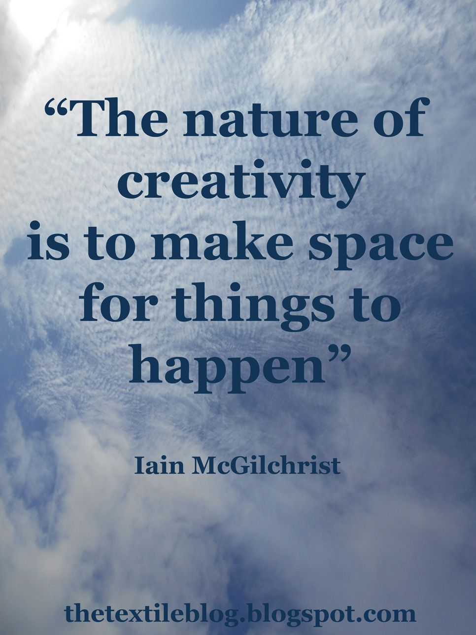 the textile blog (With images) Creativity quotes, Words