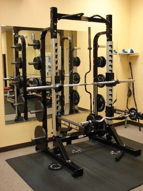 Hammer strength half rack fitness gym at home gym home gym