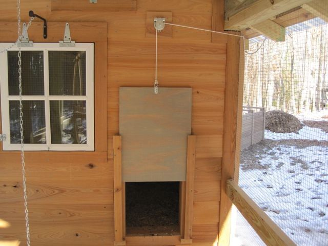 Chicken Coop Door Opener Homemade Chicken Roost Chicken Diy Automatic Chicken Coop Door