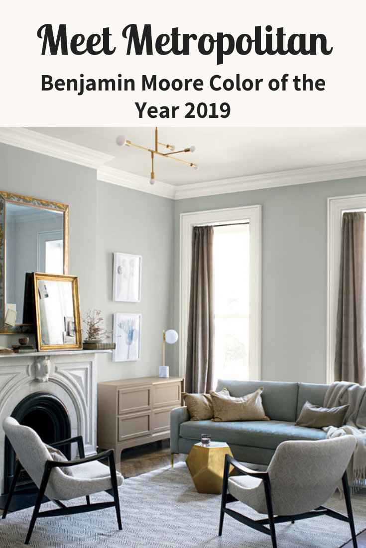 Metropolitan Benjamin Moore Benjamin Moore Just Released The Most Sophisticated Paint Color Of