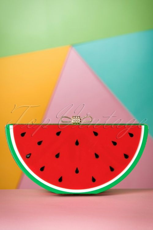 Collectif Clothing Watermelon Clutch 210 20 19001 04052016 006W