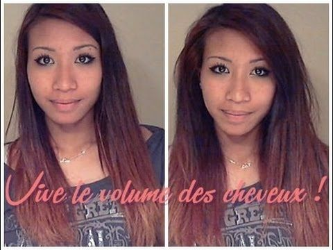 Comment avoir du volume cheveux long